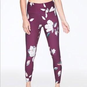 Athleta Floral Elation 7/8 tights Brand New XS